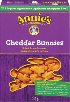 ANNIE'S SNACK CRACKERS