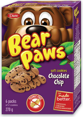 DARE BEAR PAWS COOKIES OR GOLDFISH CRACKERS