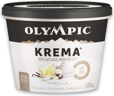 IÖGO NANO OR OLYMPIC KREMA YOGURT