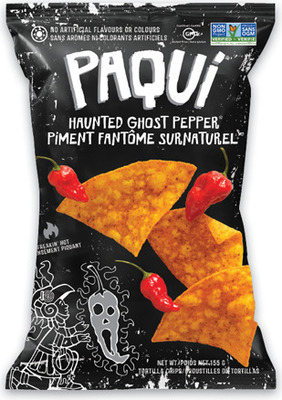PAQUI TORTILLA CHIPS 155 g HARDBITE CHIPS