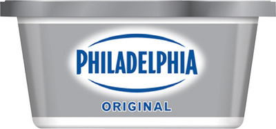 PHILADELPHIA CREAM CHEESE or IRRESISTIBLES REFRIGERATED JUICE