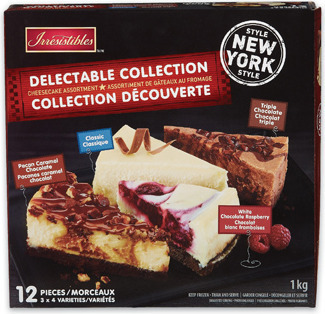 IRRESISTIBLES DELECTABLE COLLECTION CHEESECAKE