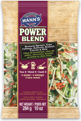 MANN'S POWER BLEND 284 g FINELY CHOPPED CAULIFLOWER 397 g