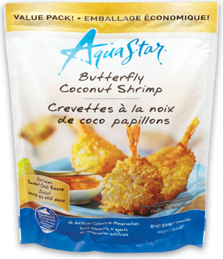 AQUA STAR COCONUT OR POPCORN SHRIMP