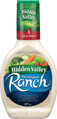 HIDDEN VALLEY SALAD DRESSING OR SWEET BABY RAY'S BBQ SAUCE