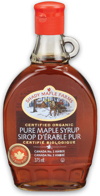 SHADY MAPLE FARMS OR CITADELLE MAPLE SYRUP