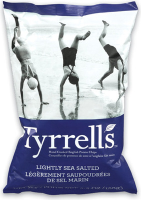 TYRRELL'S CHIPS 150 g, SKINNY POP POPCORN 125 g OR PAQUI TORTILLA CHIPS 155 g