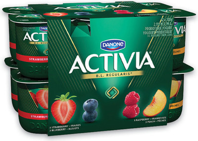 DANONE ACTIVIA YOGURT 12 X 100 g, OÏKOS GREEK YOGURT 750 g or DANACTIVE PROBIOTIC DRINKS 8 X 93 ml