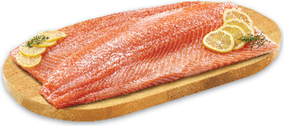 FRESH NORWEGIAN SALMON OR ICELANDIC COD OR SOLE FILLETS