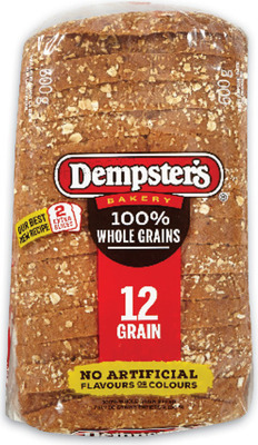 "DEMPSTER'S GRAIN BREADS, BAGELS OR 7"" TORTILLAS, VILLAGGIO BREAD OR BUNS"