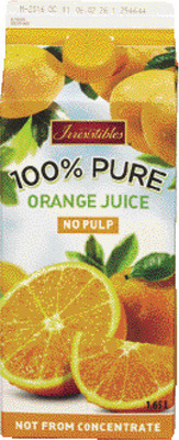 IRRESISTIBLES ORANGE JUICE OR REFRIGERATED BEVERAGES, KASHI, SPECIAL K OR ALL-BRAN BARS