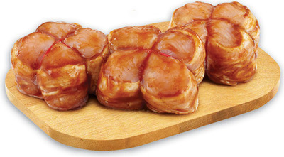 BACON WRAPPED CHICKEN OR TURKEY BREAST MEDALLIONS
