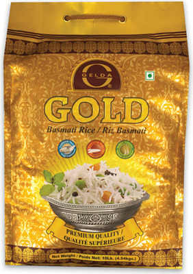 GELDA GOLD BASMATI RICE OR LAL QILLA BASMATI RICE