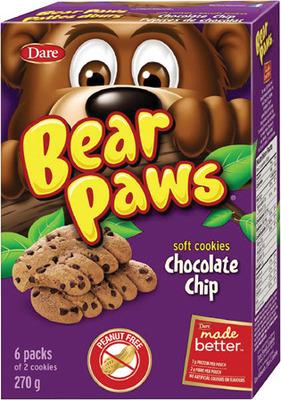 GOLDFISH CRACKERS, BEAR PAWS COOKIES OR CHRISTIE SNAK PAKS