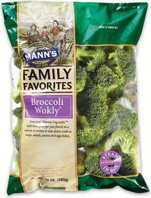 MANN'S BROCCOLI WOKLY 340 g STIR FRY VEGETABLES 340 g