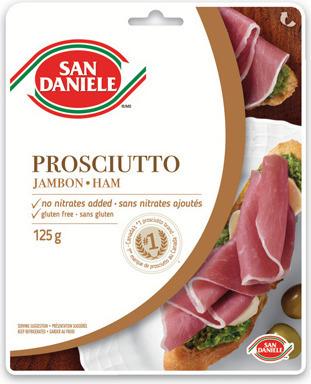 SAN DANIELE SLICED PROSCIUTTO OR SPECK HAM 125 g or MASTRO TRIO PACK 150 - 250 g