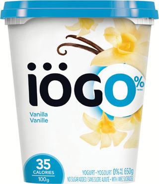 IÖGO YOGURT TUBS