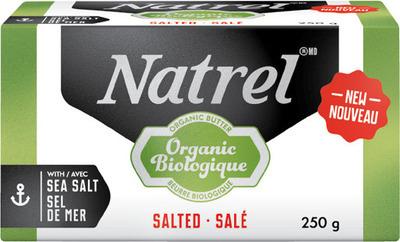 NATREL ORGANIC BUTTER