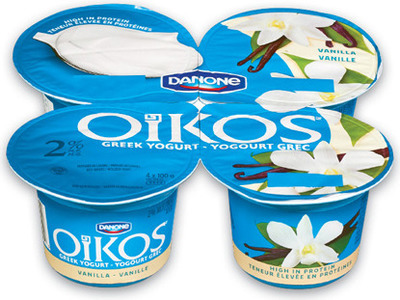 DANONE ACTIVIA OR OÏKOS YOGURT