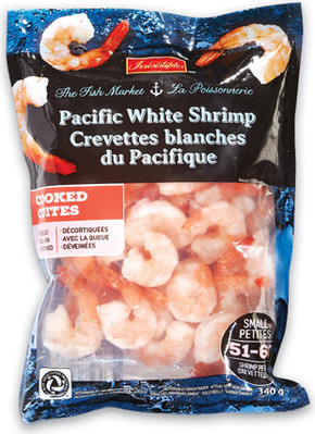 FRESH ONTARIO RAINBOW TROUT OR TILAPIA FILLETS FAMILY PACK, MIN. 900 g, 7.99/lb, 1.77/100 g or IRRESISTIBLES COOKED SHRIMP FROZEN, 51/60 SIZE, 340 g