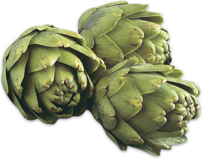 FROST-KISSED ARTICHOKES
