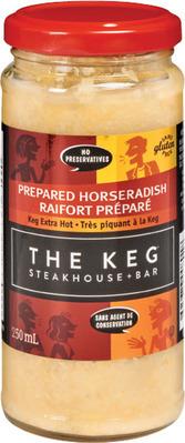 THE KEG HORSERADISH EXTRA HOT