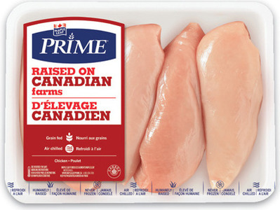 MAPLE LEAF PRIME FRESH CHICKEN BREAST BONELESS SKINLESS