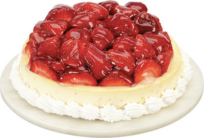 FRONT STREET BAKERY STRAWBERRY CHEESECAKE
