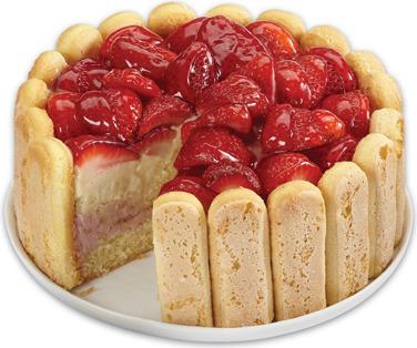 FRONT STREET BAKERY STRAWBERRY BANANA CAKE