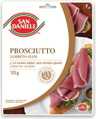 SAN DANIELE SLICED PROSCIUTTO, SPECK HAM OR MASTRO TRIO