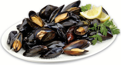 IRRESISTIBLES MARINATED P.E.I. MUSSELS