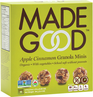 MADE GOOD GRANOLA BARS OR MINIS OR CRISPY SQUARES
