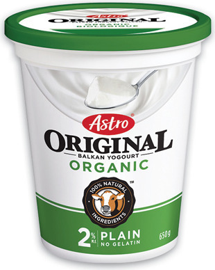 ASTRO ORGANIC YOGURT TUBS