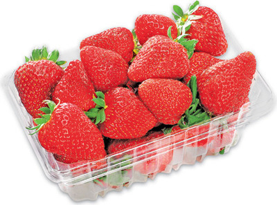 STRAWBERRIES 454 g PRODUCT OF U.S.A., No. 1 GRADE BLACKBERRIES 170 g PRODUCT OF MEXICO