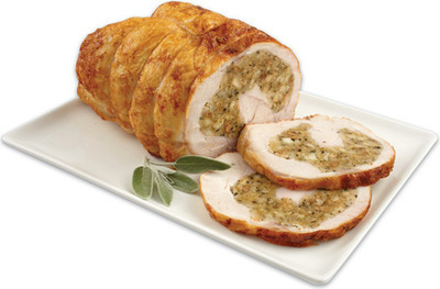 BONELESS STUFFED TURKEY BREAST ROAST EASY CARVE
