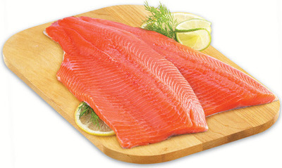 FRESH ONTARIO RAINBOW TROUT FILLETS OR ROASTS