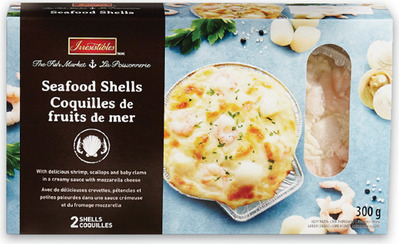 IRRESISTIBLES STUFFED SEAFOOD SHELLS