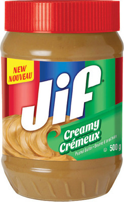 JIF PEANUT BUTTER 500 g or JIF TO GO 250 g