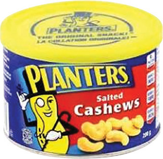 PLANTERS CASHEWS