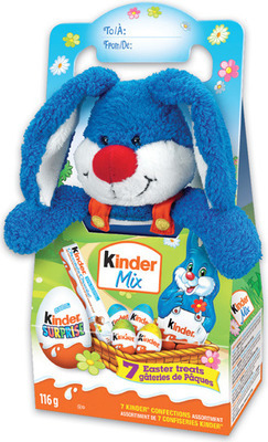 FERRERO KINDER PLUSH EASTER CHOCOLATE