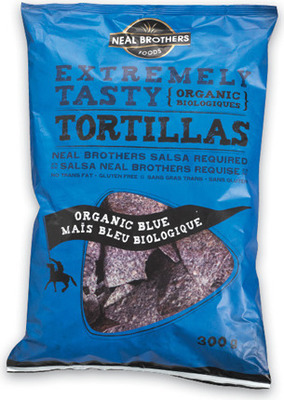 KETTLE CHIPS OR NEAL BROTHERS TORTILLA CHIPS
