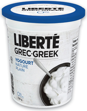 LIBERTÉ GREEK YOGURT TUBS