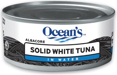 OCEAN'S, GOLD SEAL WHITE TUNA OR GOLD SEAL PINK SALMON