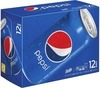 Pepsi or Mountain Dew Ice 12 Pack or 8 Pack