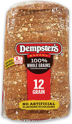 DEMPSTER'S WHOLE GRAINS BREADS 600 G BAGELS PKG OF 6 OR WONDER BREAD 675 G