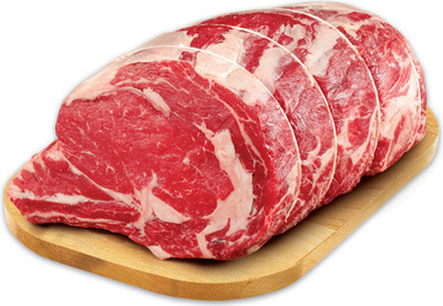 RED GRILL CAP OFF PRIME RIB ROAST OR VALUE PACK RIB STEAK