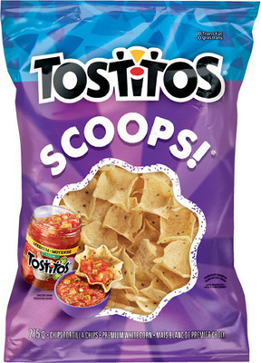 TOSTITOS TORTILLA CHIPS OR SALSA, MISS VICKIE'S POTATO CHIPS