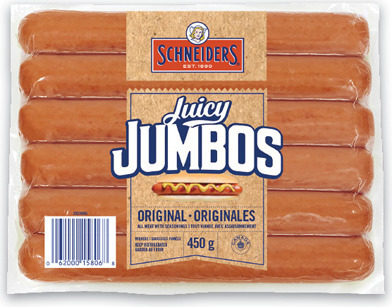 SCHNEIDERS JUICY JUMBOS OR GRILL'EMS