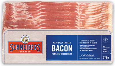 SCHNEIDERS OR MAPLE LEAF BACON