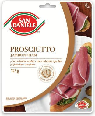 SAN DANIELE SLICED PROSCIUTTO, SPECK HAM OR MASTRO CHARCUTERIE TRIO